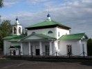 В поселке Староуткинск горит церковь