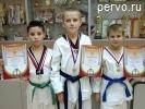На турнире ДЮСШ по тхэквондо среди детей 2001-2003 г.р. Первоуральск занял III командное место
