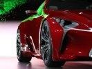 Концепт шикарного купе Lexus LF-LC представлен официально. Видео