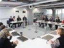 Первоуральский новотрубный завод посетили рабочие «Уралвагонзавода» - представители комитета в поддержку Владимира Путина