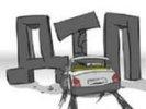 В Первоуральске в ДТП пострадали три автомобиля. Видео