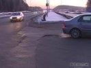 Возле ТЦ «Мега» закроют аварийный разворот