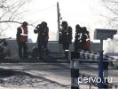 В Первоуральске на ремонт закрыт железнодорожный переезд
