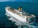 Второй круизный лайнер компании Costa Crociere терпит бедствие: на борту более 1000 человек