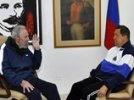 Чавес впервые после операции появился в эфире венесуэльского телевидения: президент встретился с Кастро