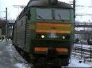 Снежная баба остановила пассажирский поезд из Москвы в Кировской области