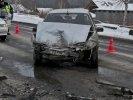В Первоуральске произошло ДТП с участием двух легковых автомашин. Фото