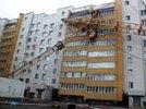 Спасатели в Чите сутки не могут демонтировать рухнувший на дом кран