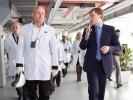 В Первоуральске Образовательный центр ЧПТЗ посетила делегация Министерства образования и науки Челябинской области. Видео