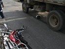 В Первоуральске водителю мопеда при ДТП оторвало ногу. Фото. Видео