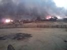 В Амурской области вспыхнул поселок Тыгда - 120 человек остались без крова. ФОТО