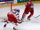 Россия победила Чехию, гарантировав себе первое место в группе. Это шестая подряд победа