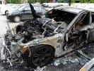 ЧП в екатеринбургском «квартале миллионеров». На платной охраняемой стоянке сгорели два автомобиля
