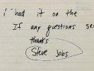 Служебную записку 19-летнего Стива Джобса выставили на аукцион