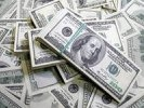 Средневзвешенный курс доллара упал на 35 копеек