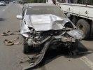 На трассе Пермь-Екатеринбург произошло ДТП. Виновник попытался скрыться с места аварии. Видео