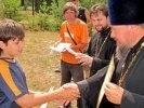 Летняя смена детского лагеря в Первоуральске завершилась Божественной Литургией