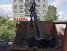 Сегодня в Первоуральске установили морской якорь. Видео. Фото