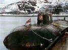 """На месте гибели подводной лодки """"Курск"""" установлен православный крест"""