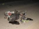 В Первоуральске произошло ДТП. Водитель скутера выехал на полосу встречного движения. Видео