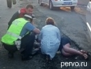 В Первоуральске водитель Mazda сбил двух человек. Видео