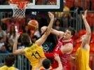 Победную серию баскетболистов РФ на Играх-2012 удалось прервать австралийцам