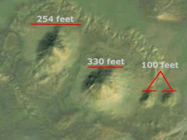 Американка нашла на ФОТО из космоса неизвестные прежде египетские пирамиды
