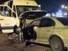 1 человек погиб, 19 ранены в аварии под Ростовом. Видео