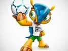 Талисманом ЧМ-2014 по футболу в Бразилии станет броненосец
