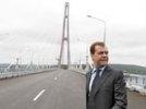 Часть трассы, построенной к саммиту АТЭС во Владивостоке, обрушилась вновь