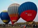 На аэродроме Логиново открылся фестиваль воздухоплавания «Земля на ладони». Фото