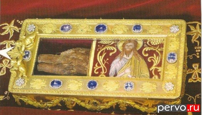В декабре в Первоуральск прибудут мощи Иоанна Крестителя