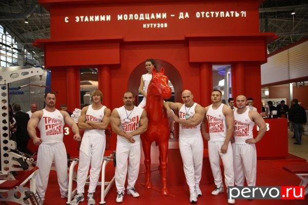 Компания ЧТПЗ презентовала свой стенд на выставке «МеталлЭкспо-2012»