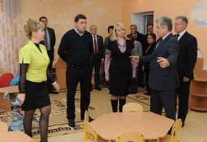 Проблему дефицита мест в детских садах Первоуральска должна быть полностью решена к 2016 году, заверил вчера губернатор Евгений Куйвашев