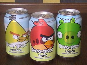 Напиток Angry Birds обогнал Coca-Cola и Pepsi по популярности в Финляндии