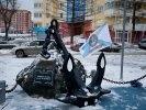 В сквере боевой и трудовой славы Первоуральска установили мемориальную доску. Видео. Фото