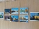 В администрации Первоуральска открылсь выставка работ уральского художника