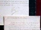 Письмо Наполеона с приказом взорвать Кремль продано за 187 тысяч евро